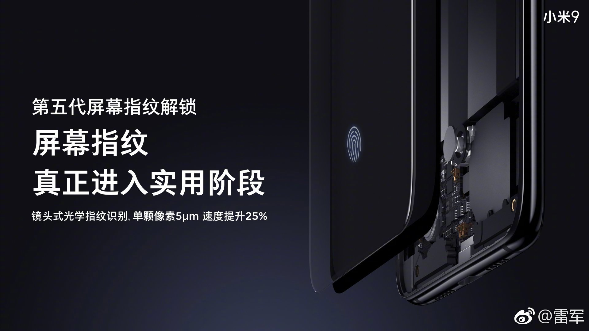 Xiaomi 9 will use Samsung AMOLED Display with Fastest In-display fingerprint 2