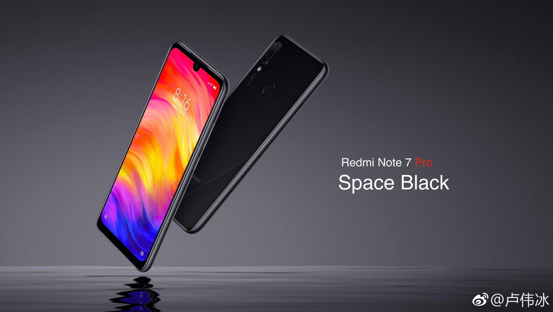Redmi Note 7 Pro Space Black