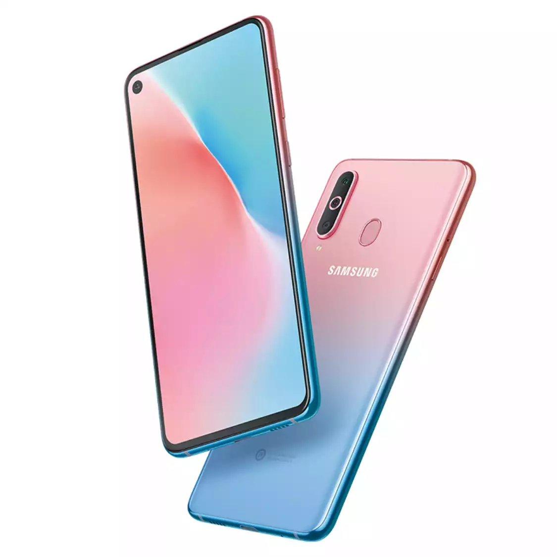 Samsung Galaxy A8s Gradient Pink-Blue