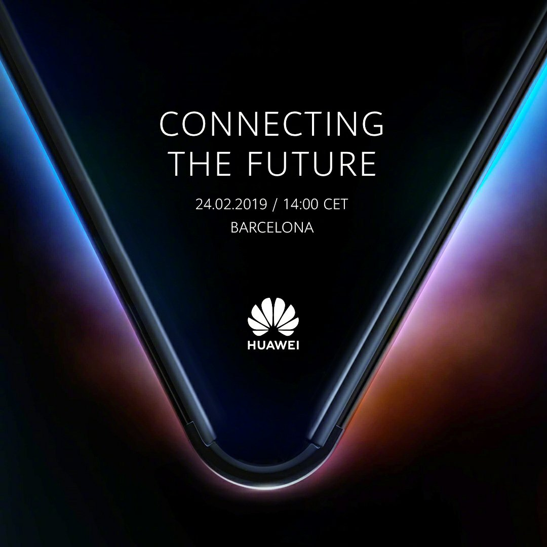 Huawei 5G Folding Phone Invitation