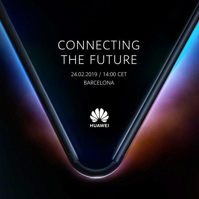 Huawei 5G Folding Phone Invitation