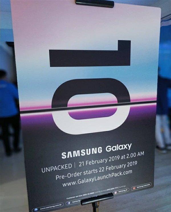 Samsung Galaxy S10 Series Poster