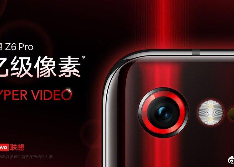 Lenovo's routine preheating Z6 Pro: 100 Megapixel Camera 1