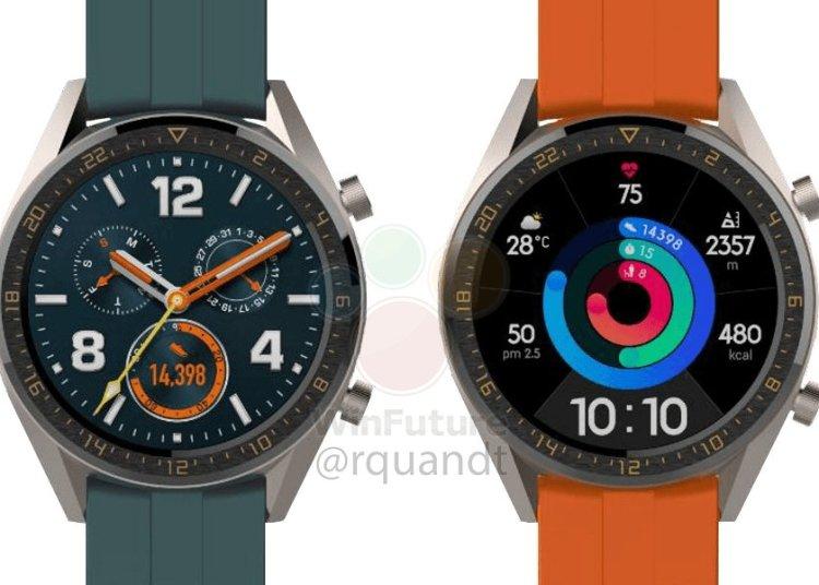 Huawei WATCH GT Active & Elegant smart watch exposure 1