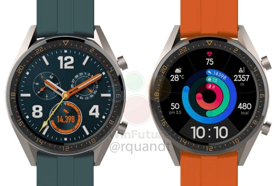 Huawei WATCH GT Active & Elegant smart watch exposure 2