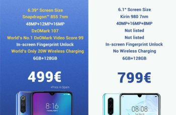 Xiaomi Comparing MI 9 with Huawei P30: should spend lot more money ? 7