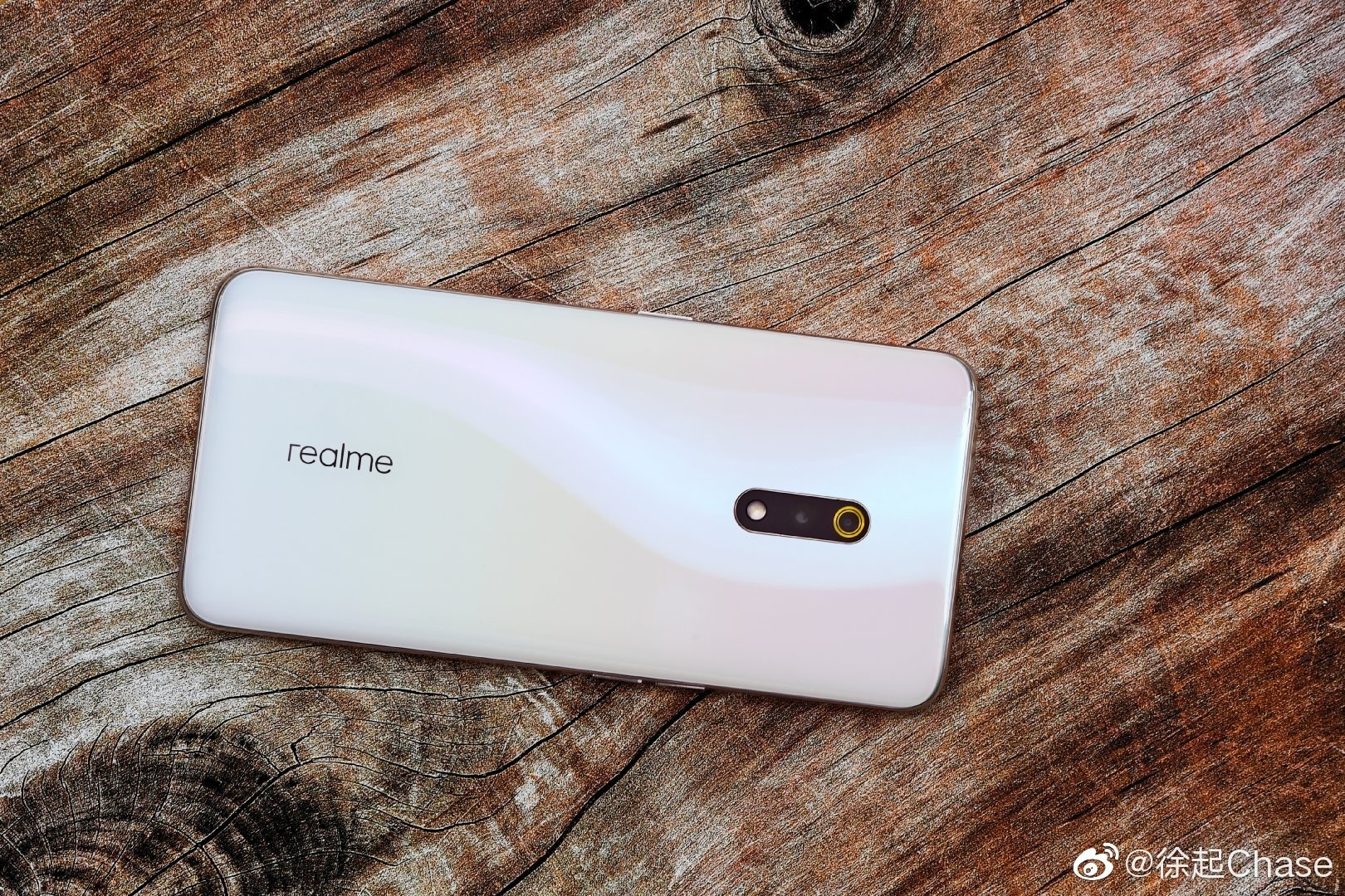 Realme X Blue Color Official image