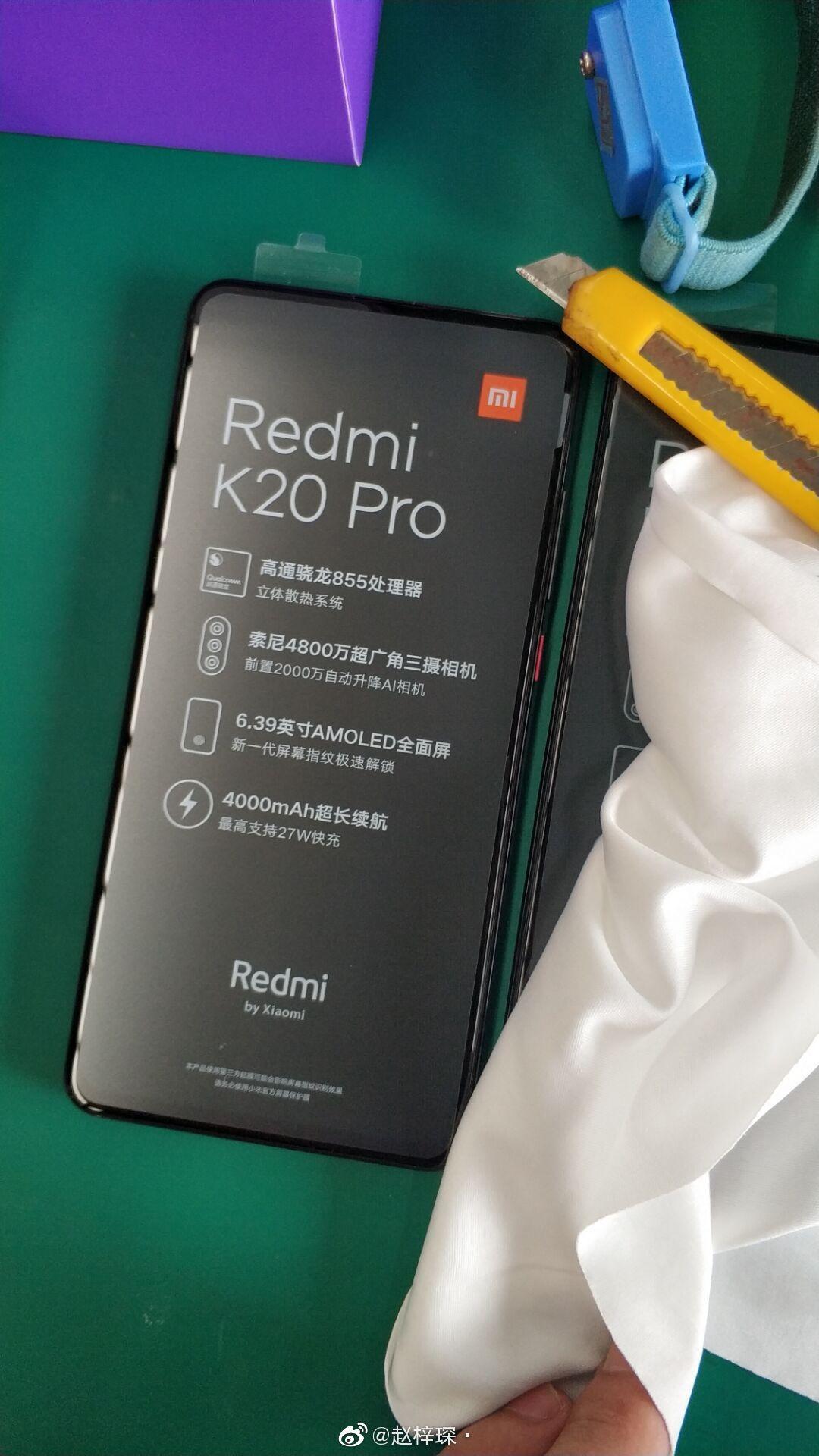 Redmi K20 Pro Unboxing Images