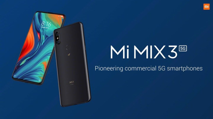 Xiaomi Mix 3 5g, mi Mix 3 5g