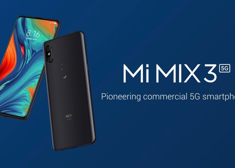 Xiaomi MIX 3 5G version will be available for sale on May 2nd 1