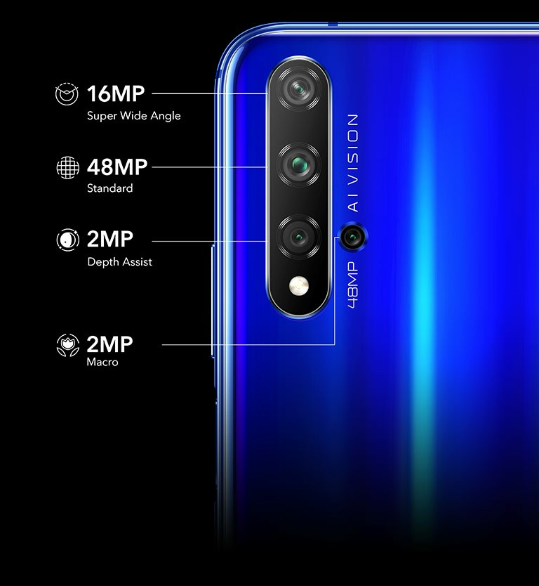 Honor 20 Camera Set-up
