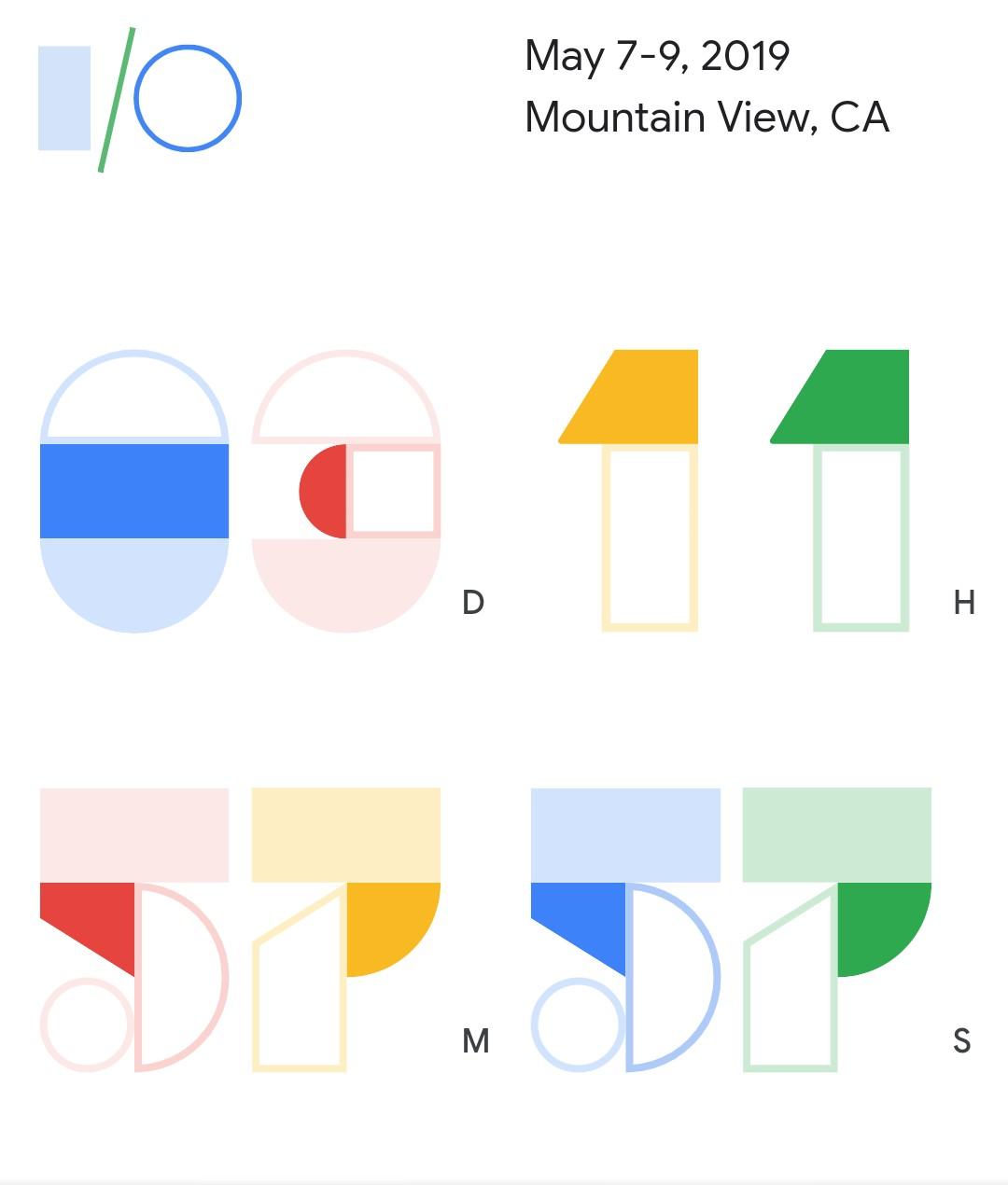 Google Developer Conference 2019