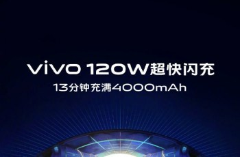 Vivo 120W ultra-fast flash charging