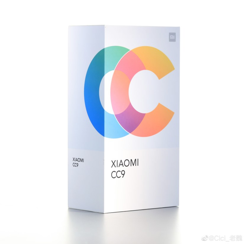 Xiaomi CC9 Retail Packaging, mi CC9 Retail Packaging