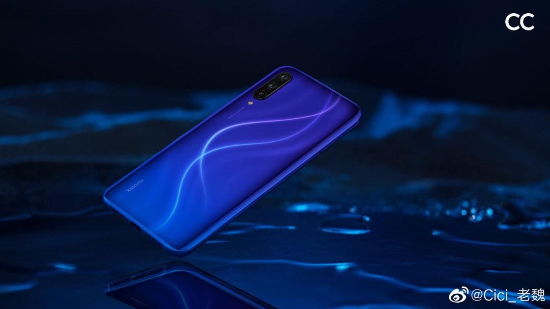 Xiaomi CC9 dark blue planet
