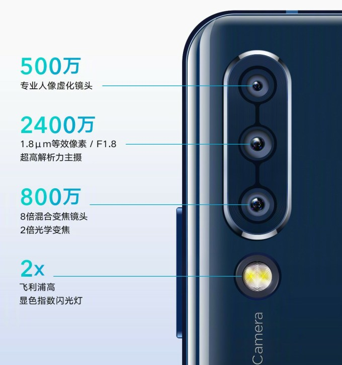 Lenovo Z6 Comes with Sony IMX576 and 8x Hybrid ZOOM 1
