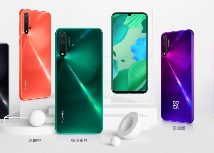 Huawei NOVA 5 Series Official Now