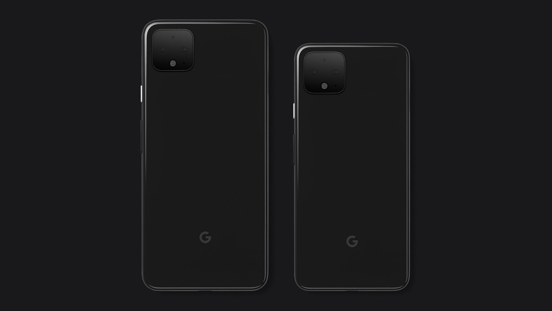 Google Pixel 4 and pixel 4 XL Rendering