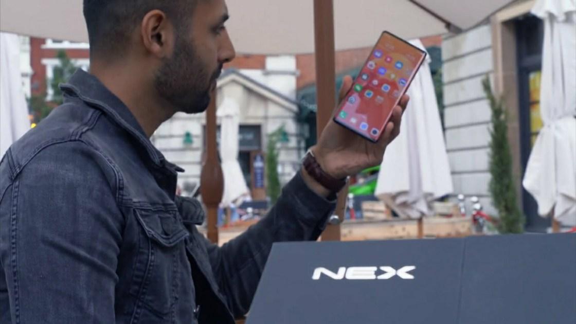 Vivo Nex 3 Full Screen Display