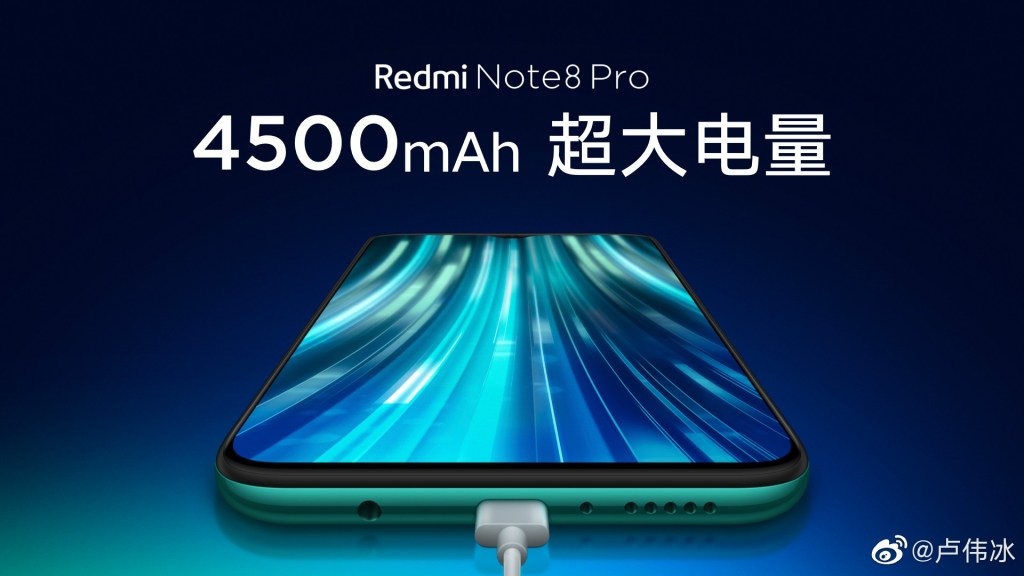 Redmi Note 8 Pro Battery Capacity