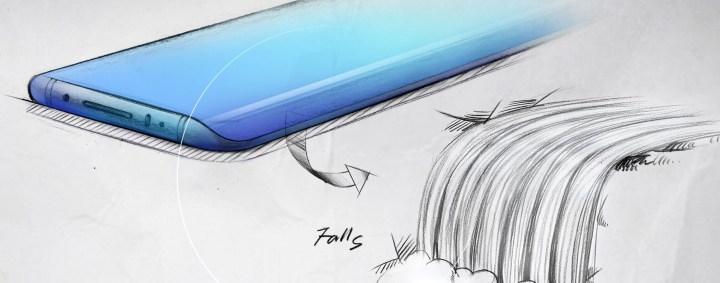Vivo Nex 3 Design Sketch