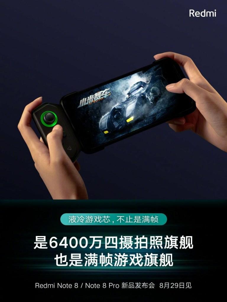Redmi note 8 pro Game Controller
