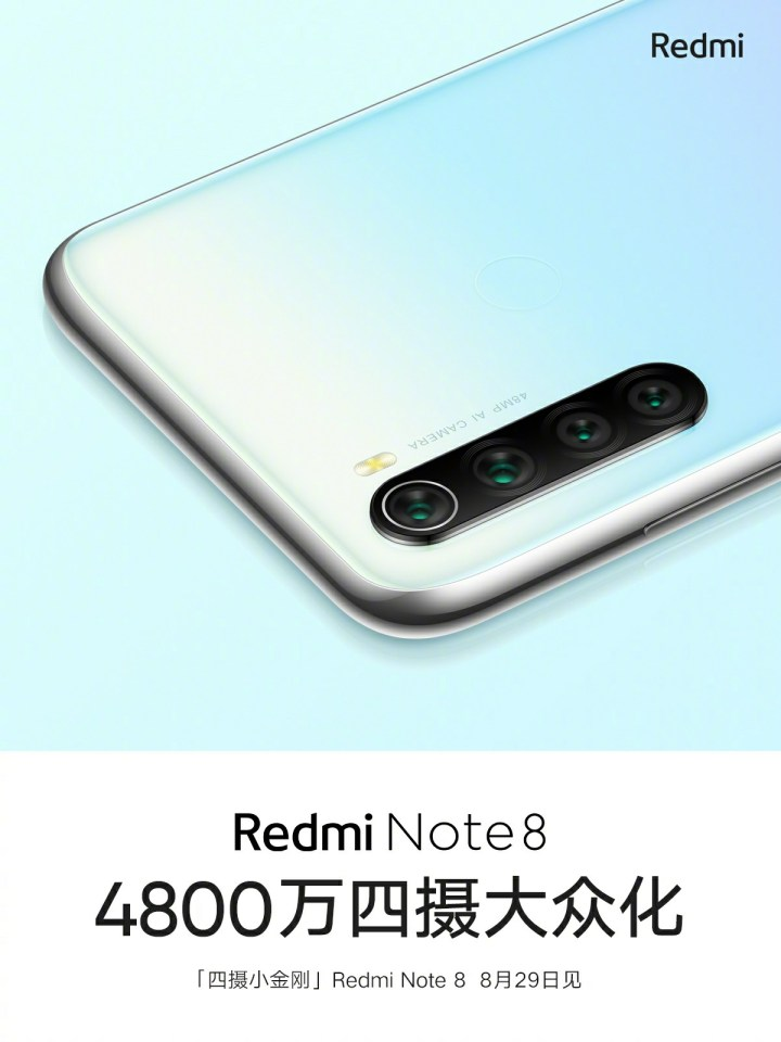 Redmi note 8 white colour