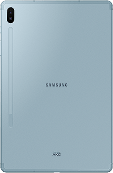 Galaxy tab S6 Cloud Blue