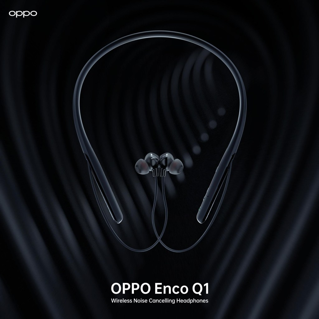 Oppo enco Q1 Wireless Bluetooth headphone launching in India
