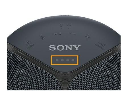 Control panel of sony smart speaker