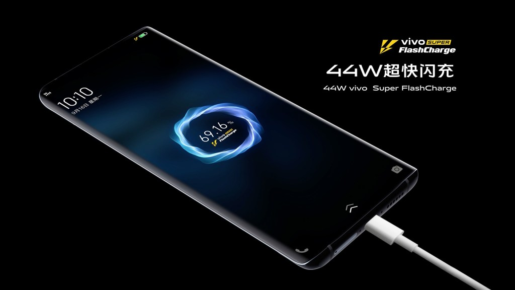 Vivo Nex 3 5G 44W Super Flash charge