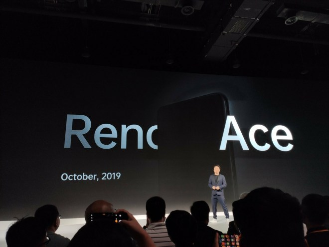 OPPO Reno Ace Release Date Announced
