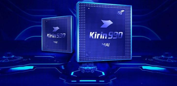 Huawei kirin 990 series