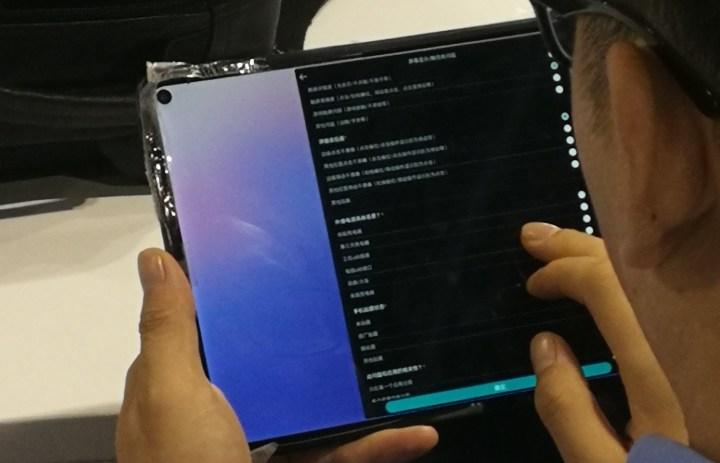 Huawei MediaPad M7 real life photo
