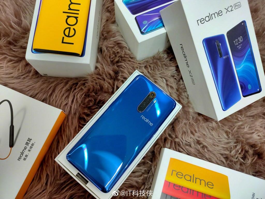 Unboxing Realme X2 Pro