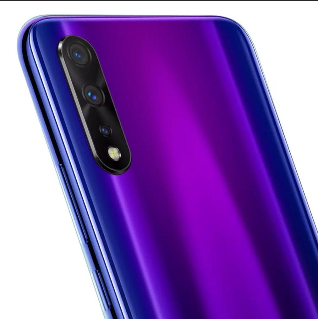 iQOO Neo 855 Version electro-optic purple