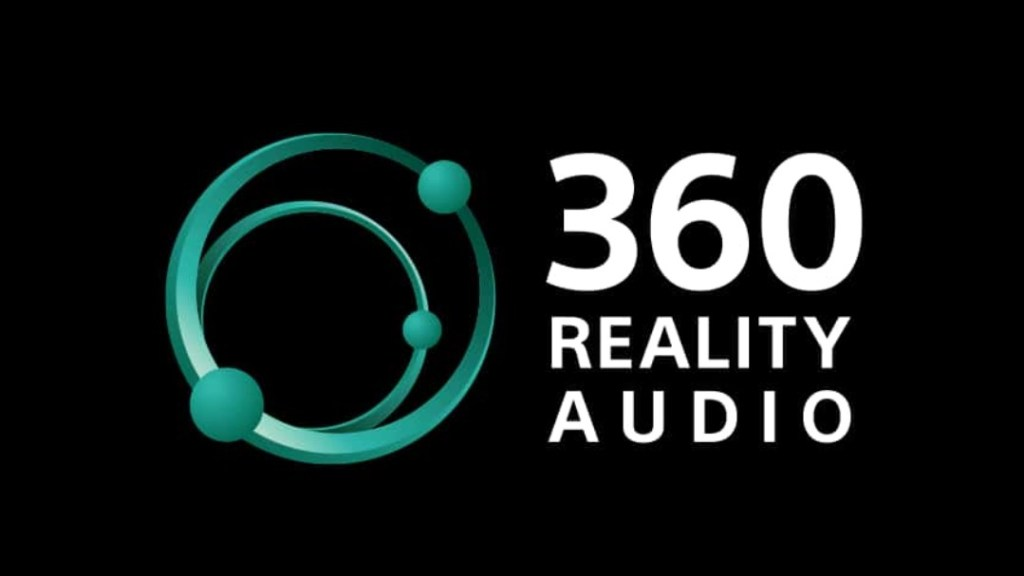 Official logo of sony 360 reality audio