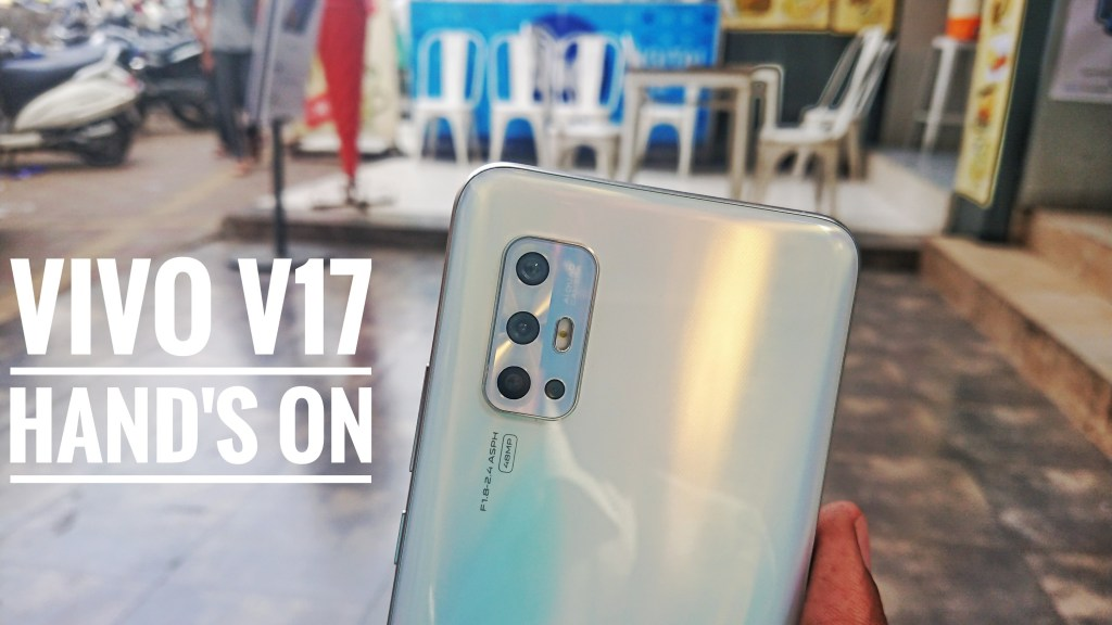 Vivo V17 hands on video