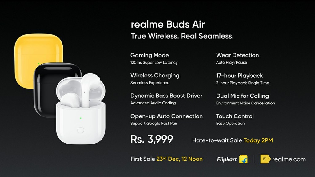 Realme Buds Air full specification