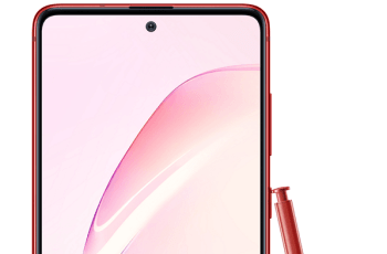 Samsung Galaxy Note 10 Lite rendering