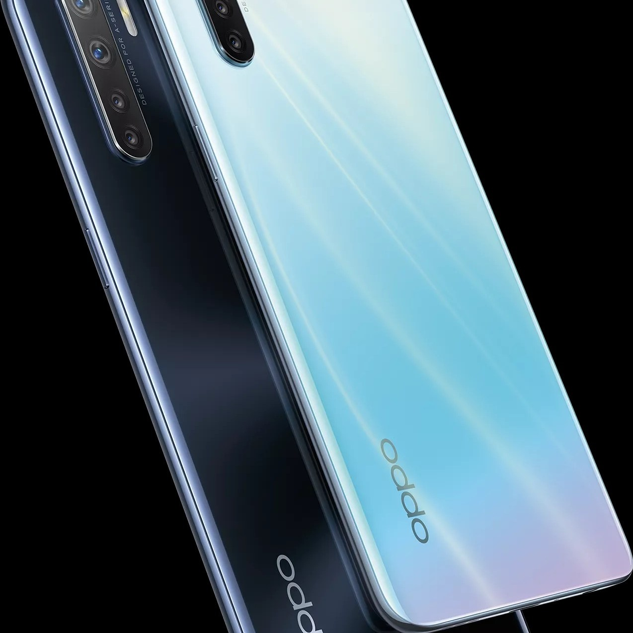 Oppo A91 Official rendering