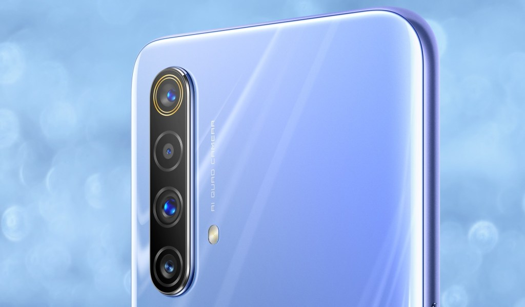 Realme X50 Official rendering