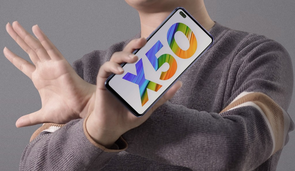 Realme X50 Front Appearance