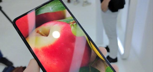 Oppo Under Screen Camera Prototype