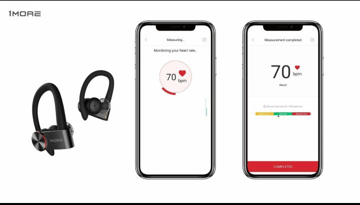 1More React Sports True Wireless Headphones
