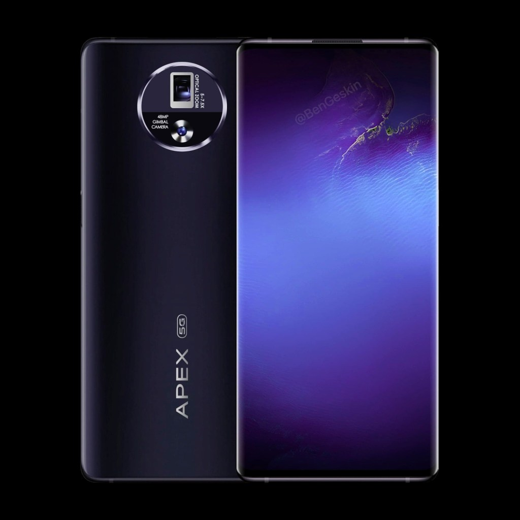 Vivo APEX 2020 official Rendering