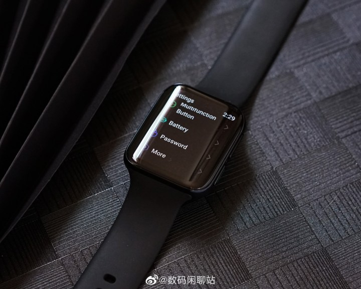 Oppo Smartwatch Real machine