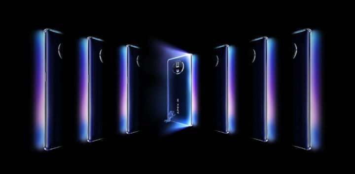 Vivo APEX 2020 Appearance - Waterfall Display