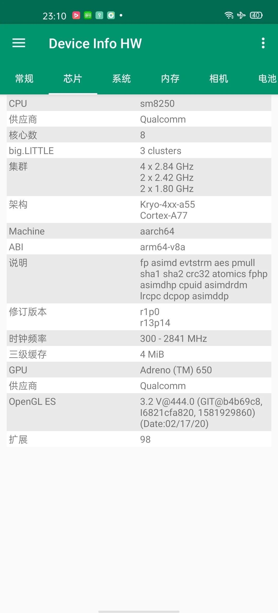 Oppo Find X2 Pro AndroBench