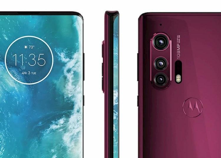 Motorola EDGE Plus Official Rendering